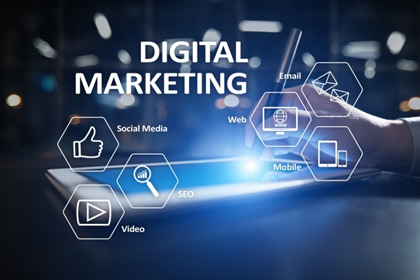 digital marketing by using web based media