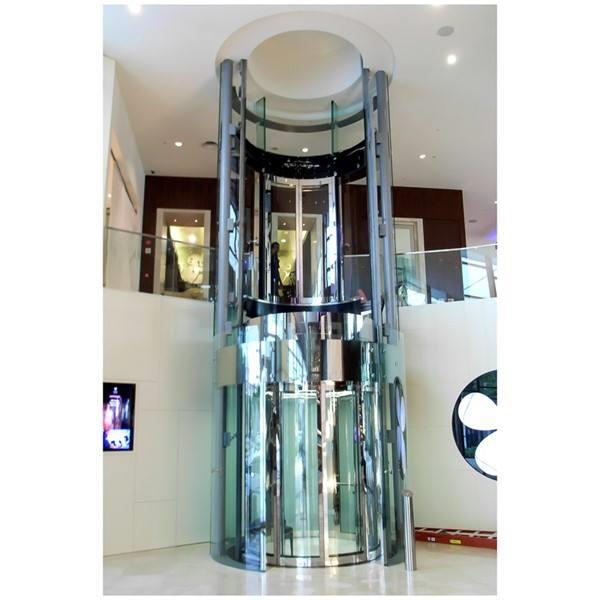 a panoramic elevator