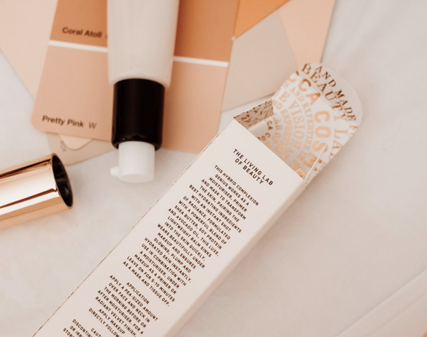 Custom Printing Solutions on beauty products
