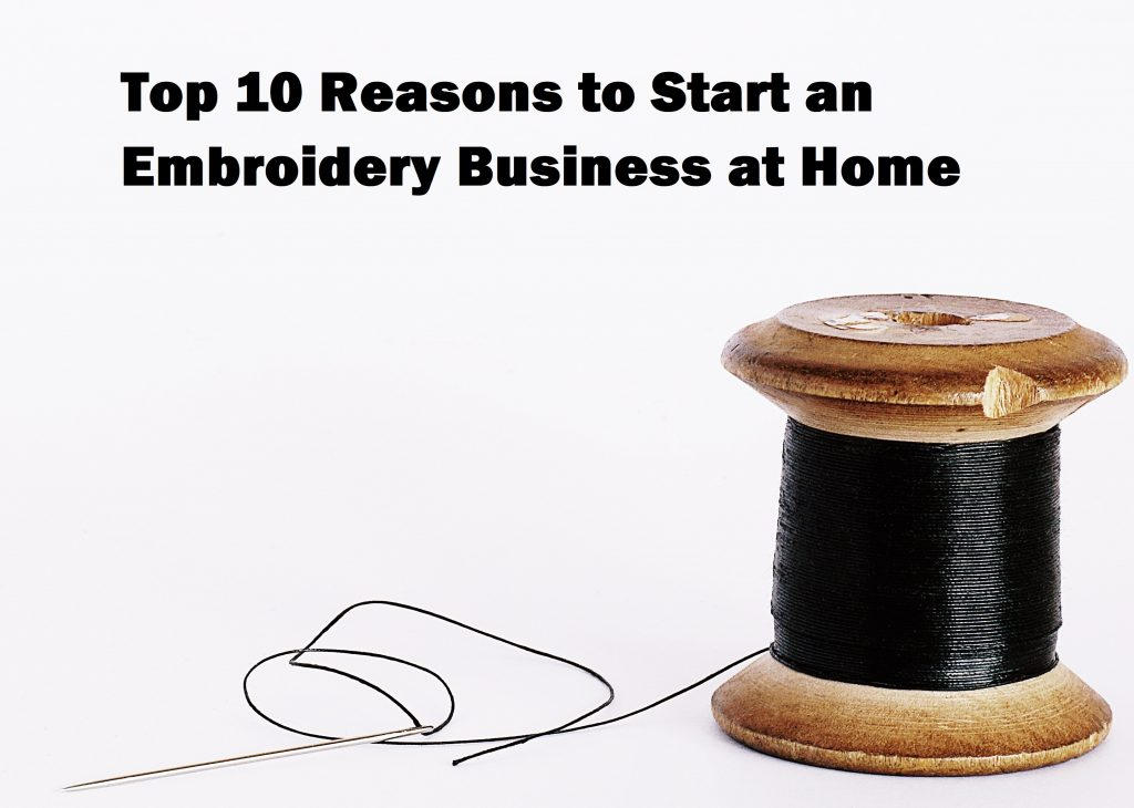 Embroidery Business at Home