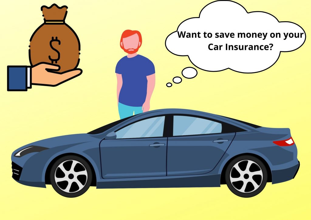 a person is  saving money on cost of car insurance?