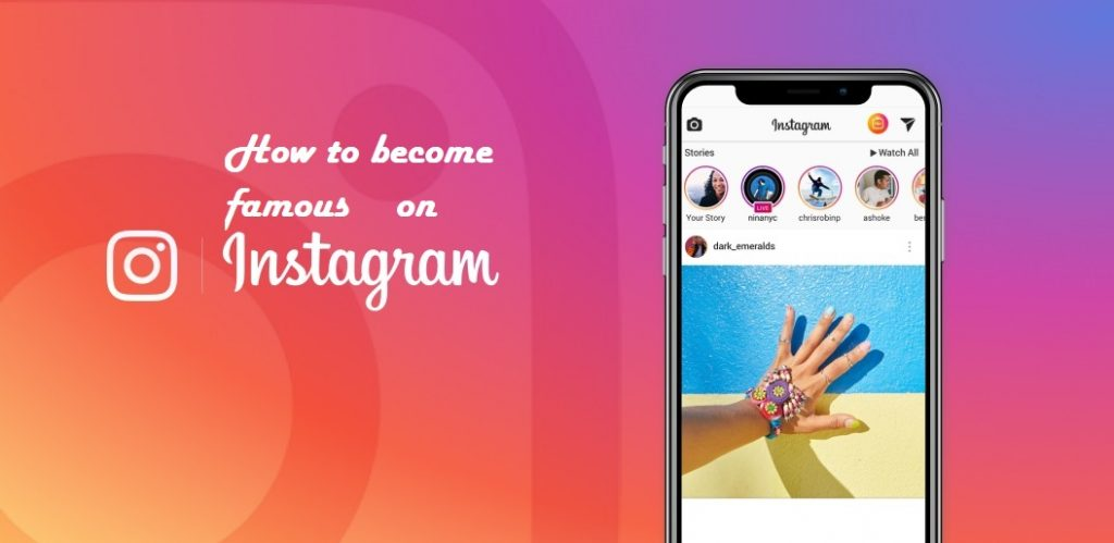 Become Famous on Instagram