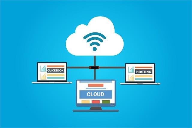 Diagram of QuickBooks Cloud Hosting