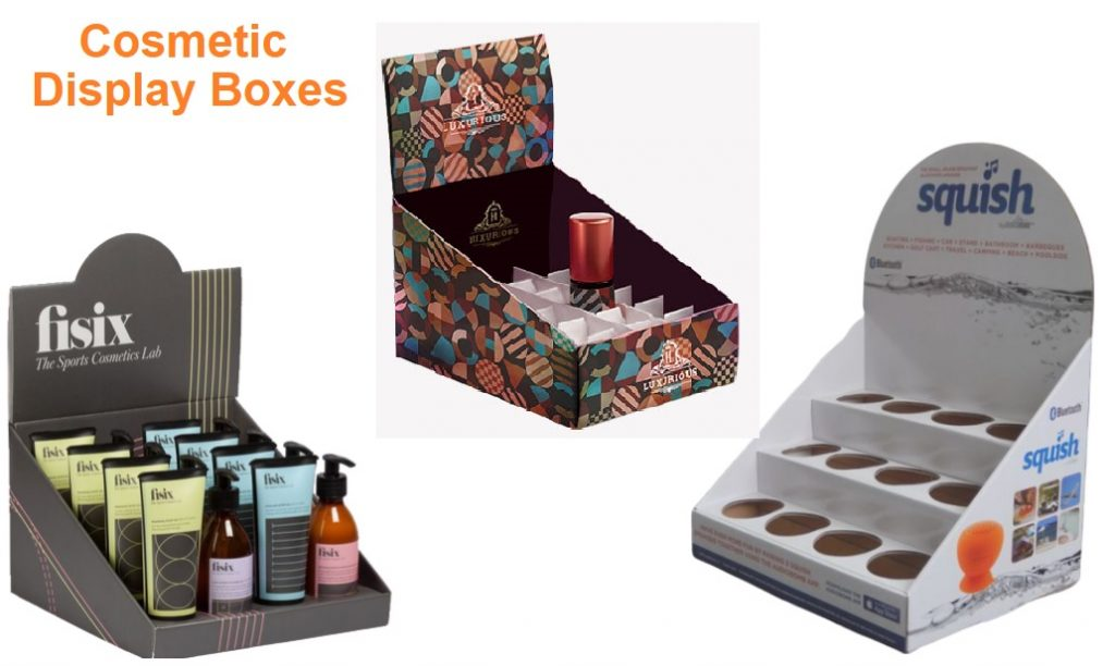 5 Things Cosmetic Display Boxes Add To Your Brand