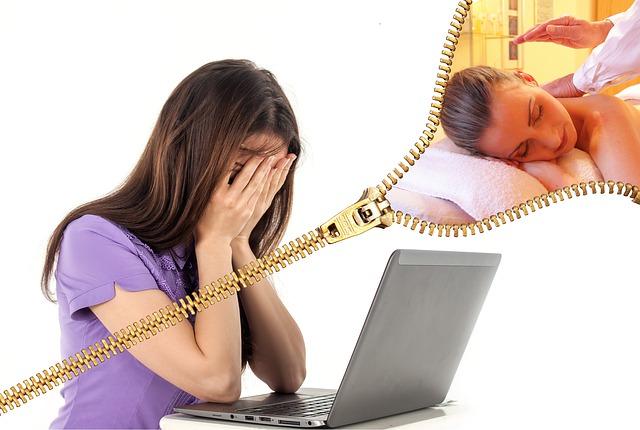 Why do I feel headache after a massage?