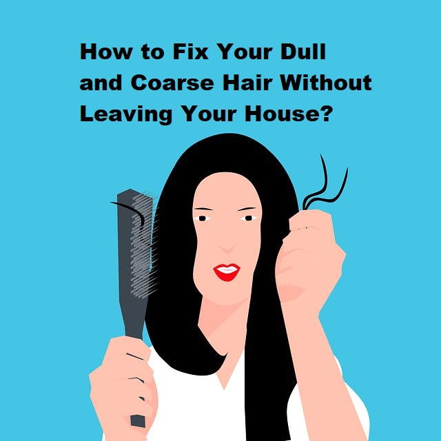 How to Fix Your Dull and Coarse Hair Without Leaving Your House